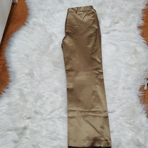 FLASH SALE!!! Womens Shimmery Gold GAP Pants